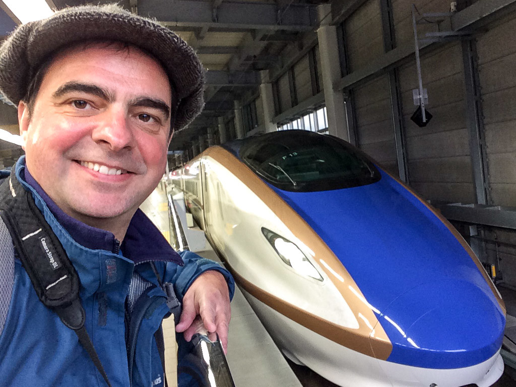 Chris King - The Train Hacker - Japan Trip 2016