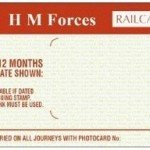 HM Forces Railcard – 1/3 OFF Rail Travel
