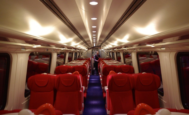 Onboard East Midlands Trains Meridian - Standard Class