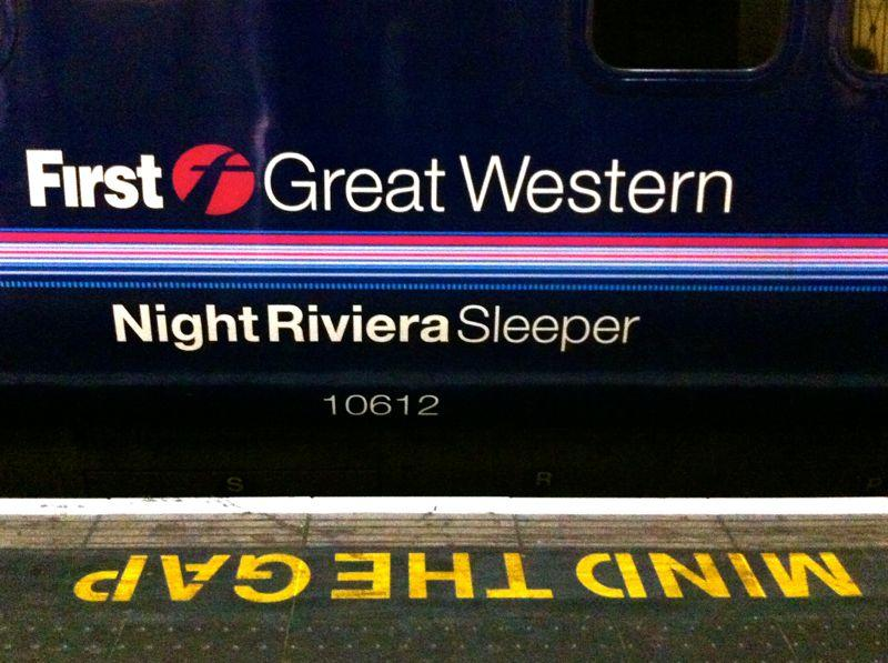 Night Riviera Sleeper Train - London to Penzance Cornwall