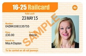 16 25 Student Railcard Promotional Code