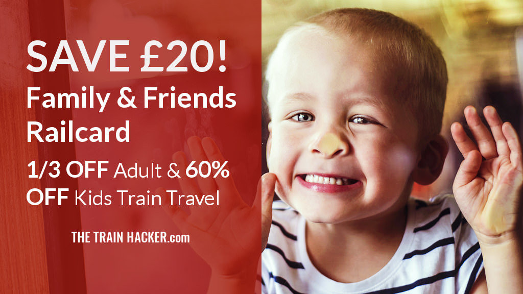Family Friends Railcard Discount Code 3 Year