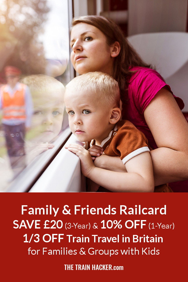 £20 OFF 3-Year & 10% OFF 1-Year Family & Friends Railcards. Get 1/3 OFF Adult & 60% OFF Kids Travel in the UK. Save Online Now...