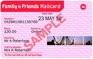 Family & Friends Railcard Promotional Code