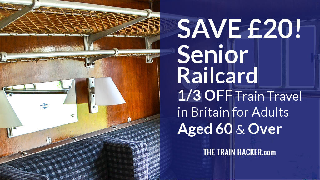 Senior Railcard Discount Code