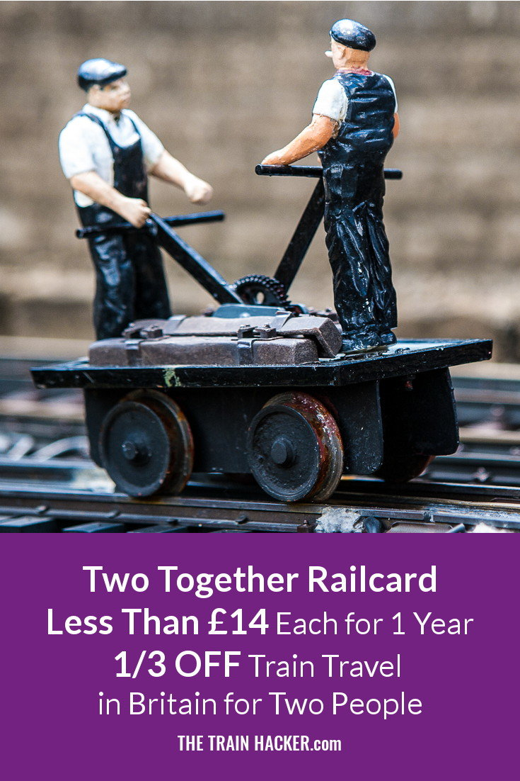 Two Together Railcard Discount Code Offers 2016. 10% OFF Online Promotional Deal. 1/3 OFF Train Travel in Britain. Save £££s Online Now..