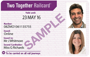 Two Together Railcard Promotional Code
