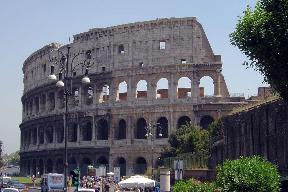 Take a grand tour of European cities such as Rome with interrail