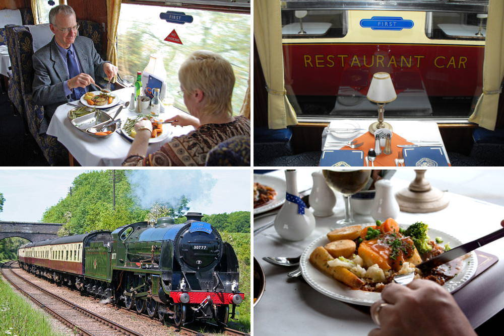 Great Central Railway (Leicestershire) Steam Train Lunch