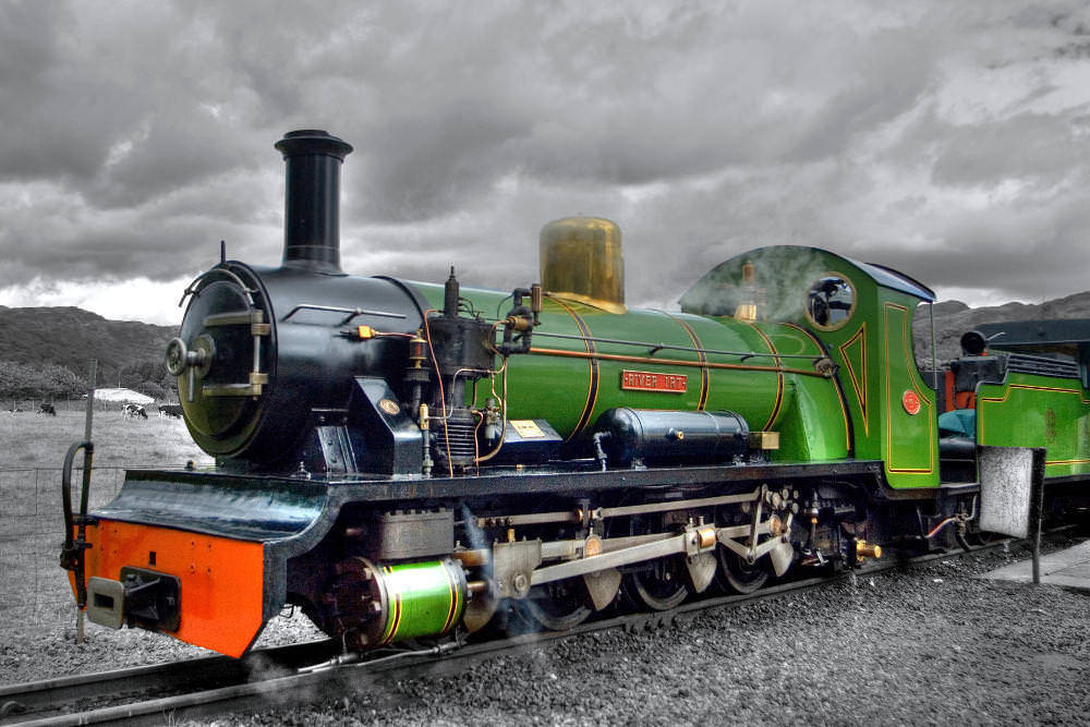 Ravenglass & Eskdale Steam Train Lunch Gift Experience in the Lake District