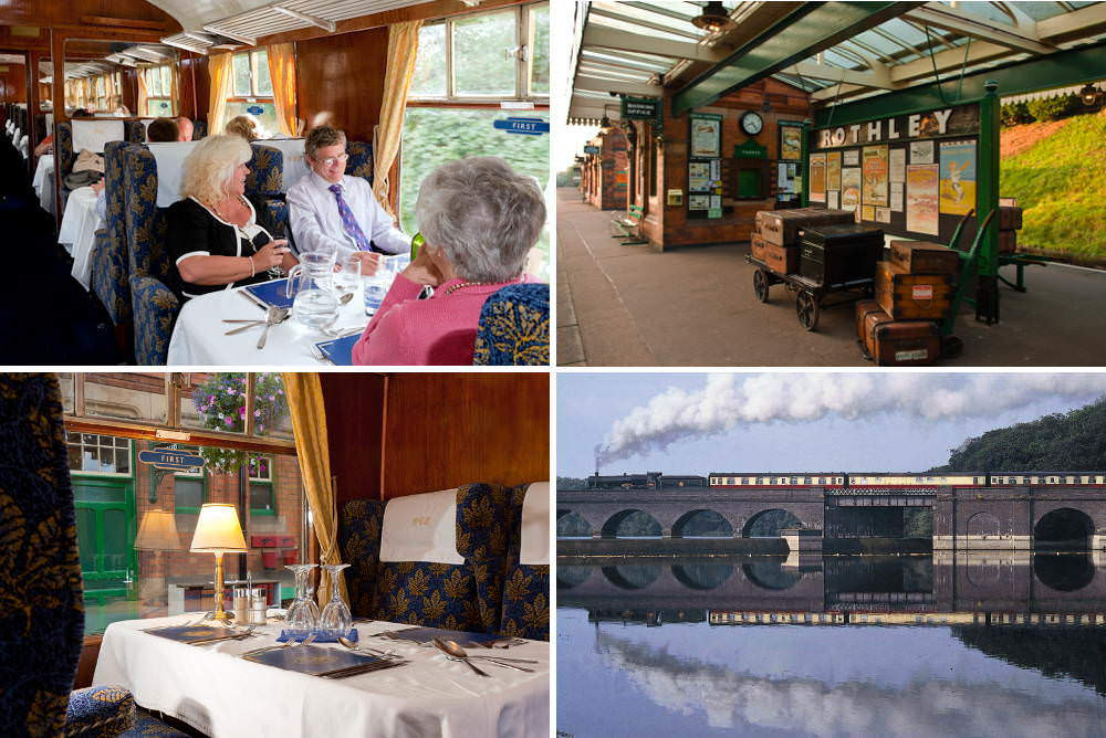 Charnwood Forester First Class Steam Train Dining Experience