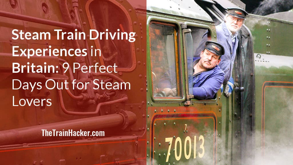 Steam Train Driving Experience Days in Britain