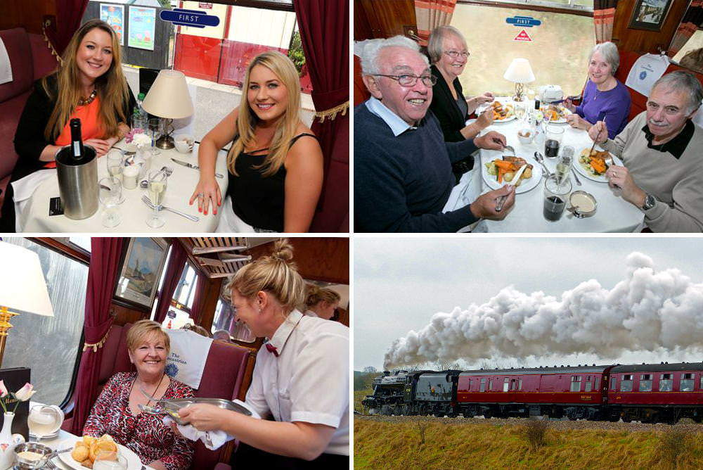 Steam Train Lunch Gift Experience on the East Lancashire Railway