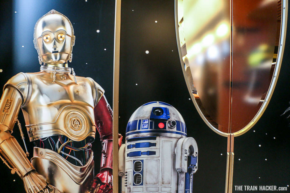 Join C3PO and R2D2 for a ride on the Nankai 50000