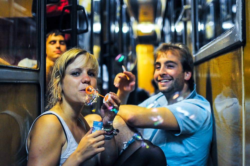 Join a train party on your Interrail trip