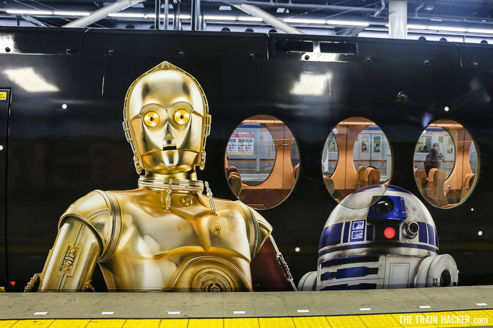 Star Wars Train Exterior - C3PO & R2D2