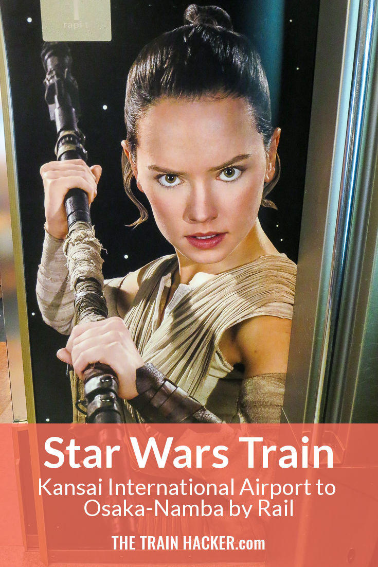 All Aboard Japan's'Star Wars' Themed Train. Travel Between Kansai International Airport and Osaka Namba On This Stylish, Retro-Futuristic and Space-Age Train.