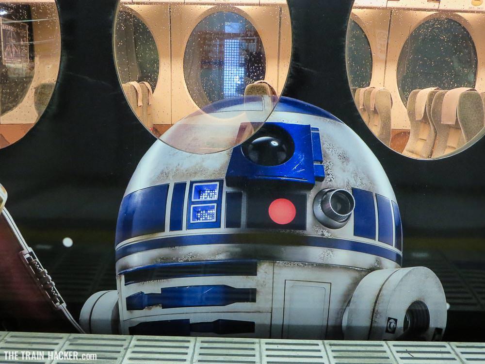 Star Wars favourite droid R2D2