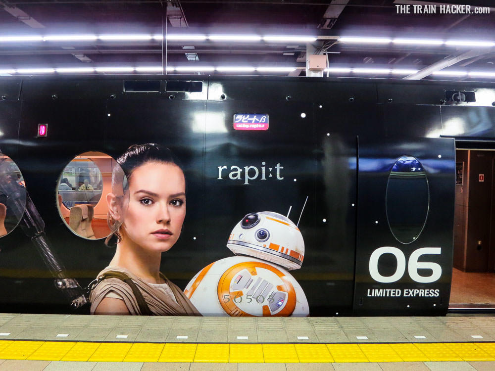 Star Wars Train - Rey & BB-8