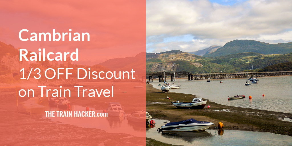 Cambrian Railcard Train Travel Discount
