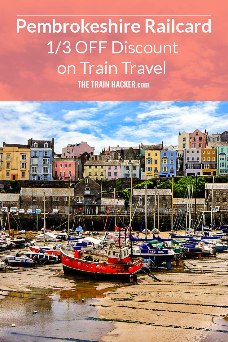 Pembrokeshire Railcard. Get 1/3 OFF Train Travel Discount in Pembrokeshire and Journeys to Swansea via Carmarthenshire. Start SAVING on Rail Fares Now...