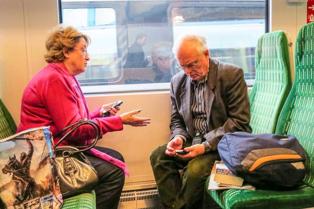 Railcards for Over 50s and Senior Adults