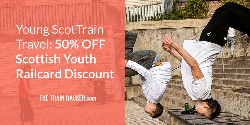 Scottish Youth Railcard 50% discount