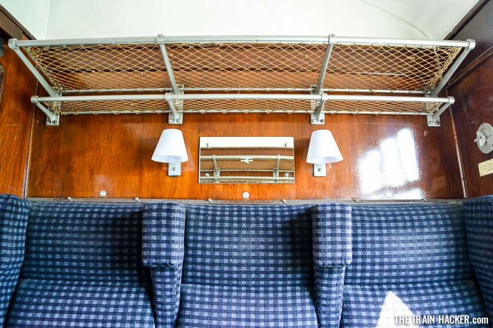 Classic Wooden Interior Design of British Rail Train