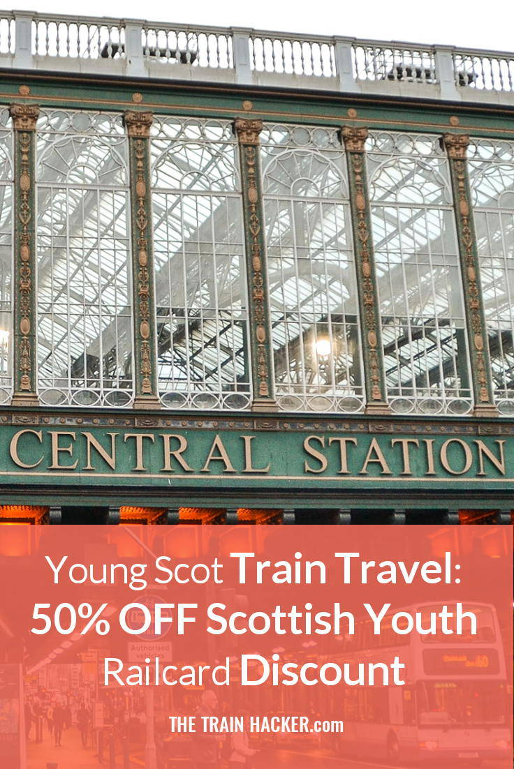 Scottish Youth Railcard: Get 50% OFF Train Travel for 16-18 Year Olds in Scotland with a Young Scot Card. Don't Pay Full Rail Fares. SAVE Money Now...