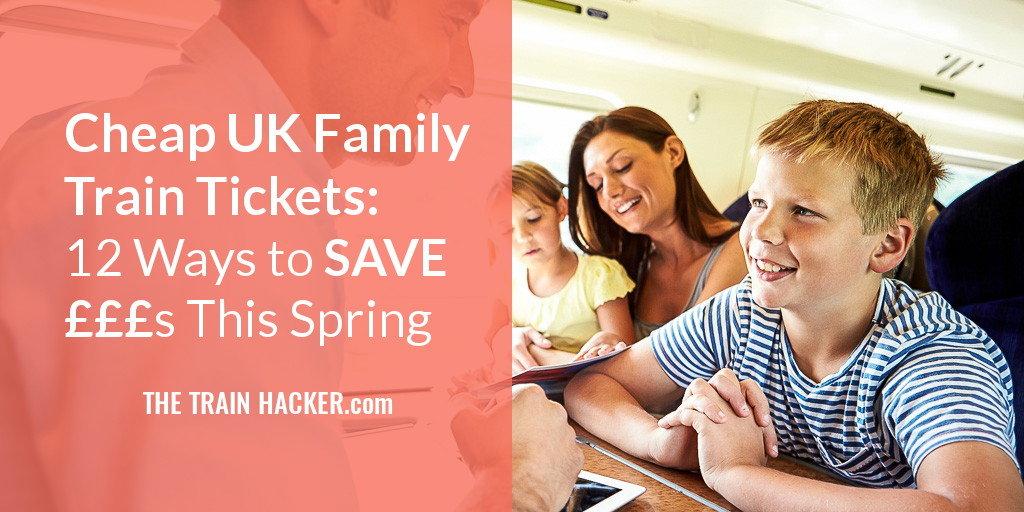 Cheap UK Family Train Tickets