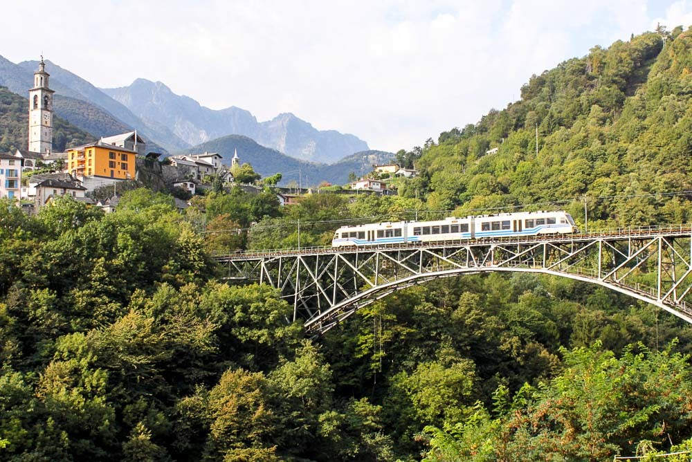 Centovalli Railway - Locarno to Domodossola by Train