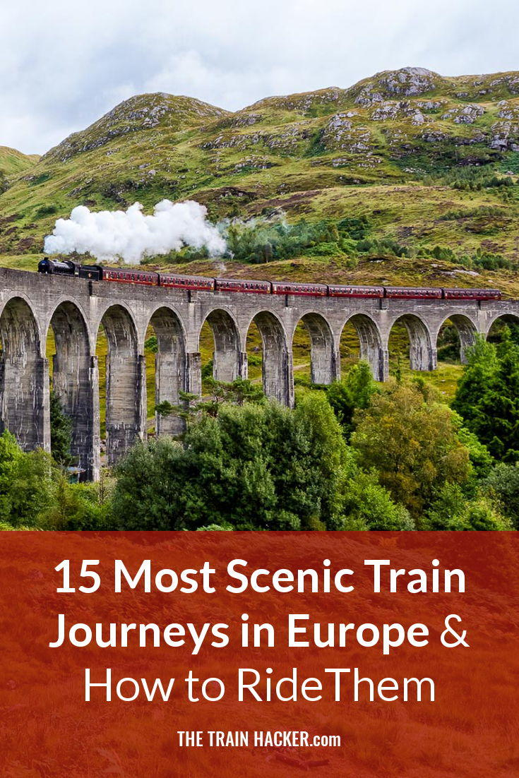 Europe's Railways Include Breathtaking Mountains, Picturesque Valleys, Rivers, Coast, Forests & Plains. Here's the Most Scenic Train Journeys in Europe…