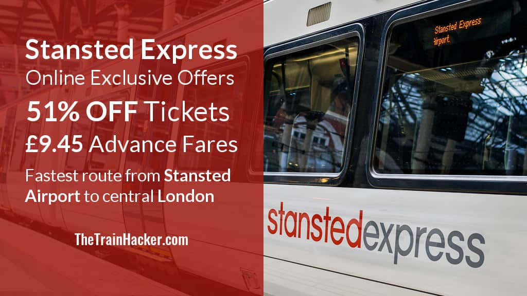 Stansted Express Promotion Code