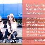 Duo Train Tickets and Cheaper Rail Travel for Two People in Britain
