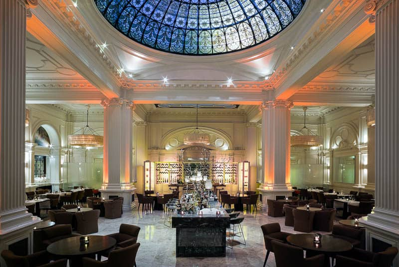 1901 Ballroom at the Andaz Hotel, London Liverpool Street