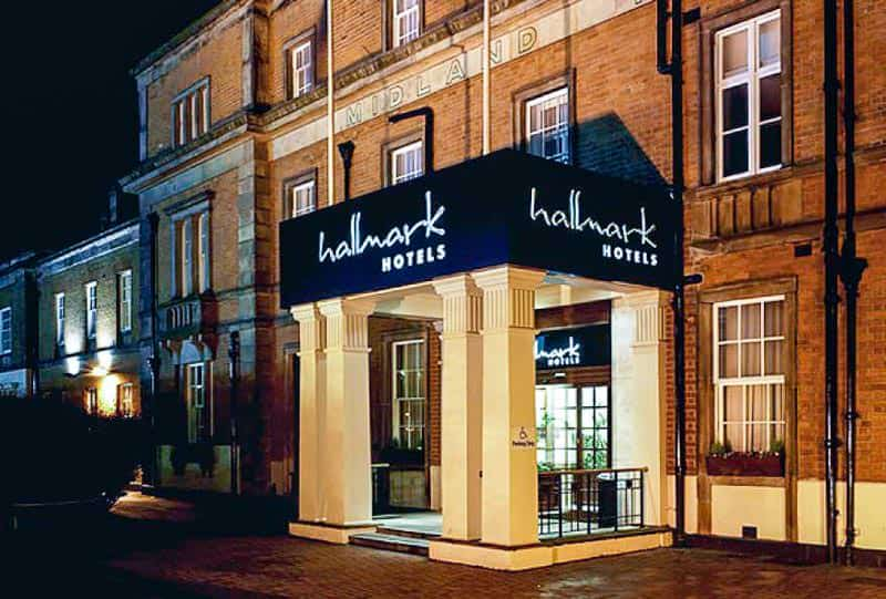 Britain's oldest railway hotel, The Hallmark Midland, Derby