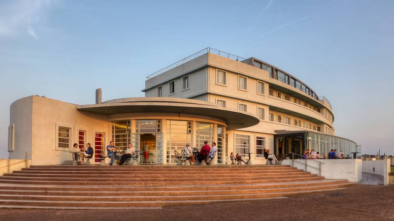 The Art Deco Midland Hotel, near Morecambe Station