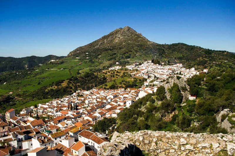 Gaucin hilltop village in Andalucia, Spain