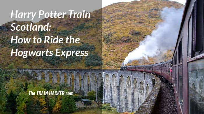 Harry Potter Hogwarts Express Train Scotland