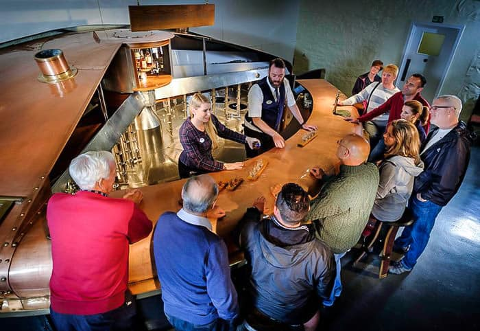 Whisky tasting at Blair Athol Distillery
