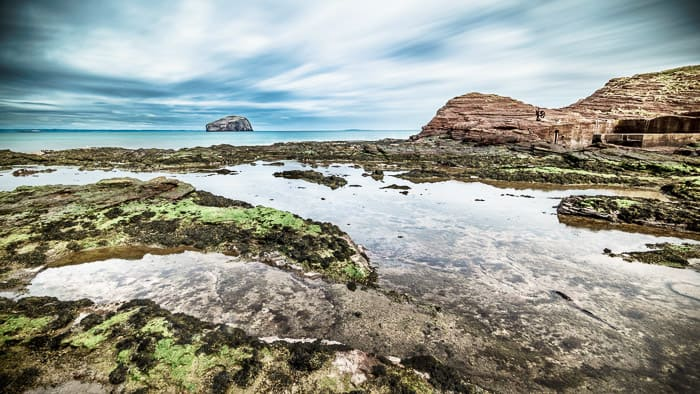 Rockpools near Seacliffe beach, North Berwick