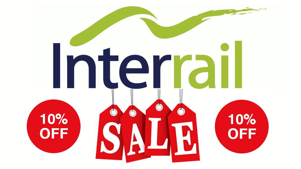 Interrail Sale 10% Off Discount Code